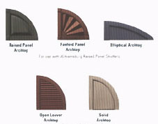 Accessories - Arch Tops