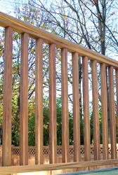 Premium Woodgrain Railing