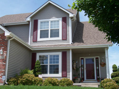 Shutters continental siding exterior building products for Home exterior options