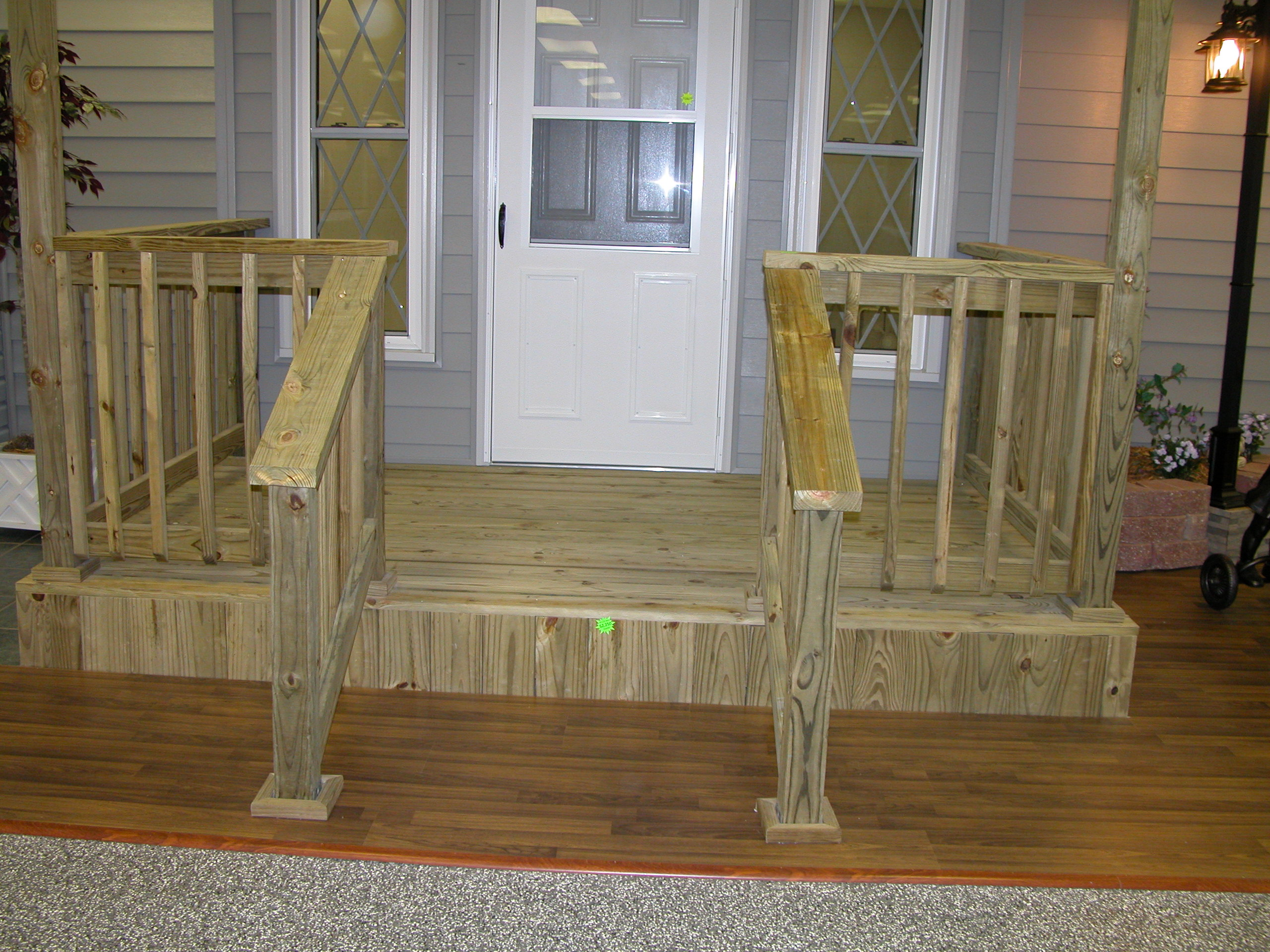 Treated Decking