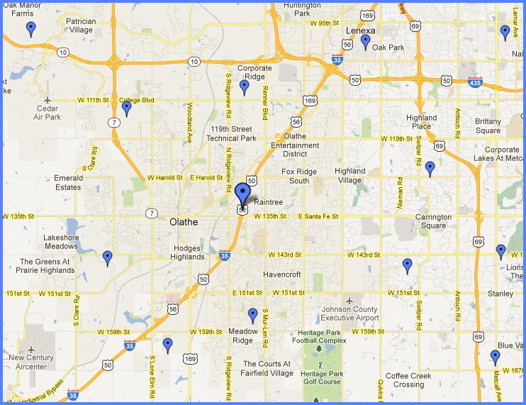 Continental Siding Locations   Olathe, KS