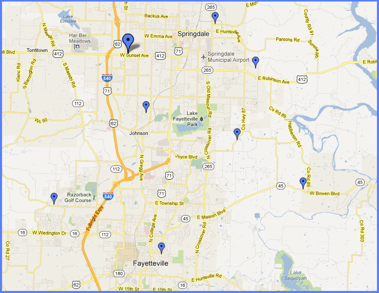 Continental Siding Locations Springdale Ar