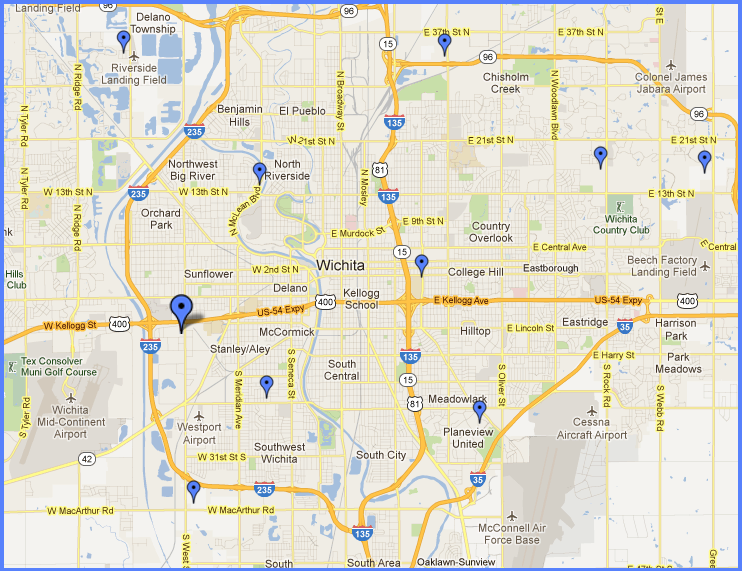 Continental Siding Supply Locations  Wichita KS